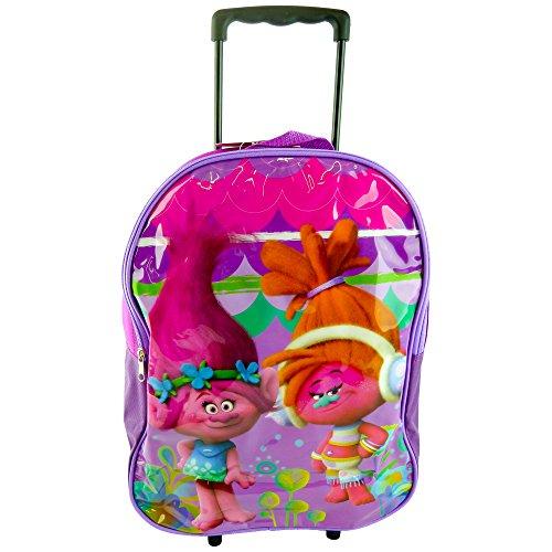 Trolls cat-at-12018Kinder groß Budget hochklappen Trolley Tasche–Boardtasche