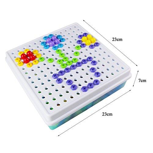 jeux de construction loisirs creatifs mosaiques jouet educatif puzzle assemblage 352pcs enfant. Black Bedroom Furniture Sets. Home Design Ideas