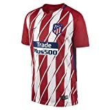 Nike Kinder Breathe Atletico Madrid Stadium Trikot, Sport Red/White/Deep Royal Blue, XL