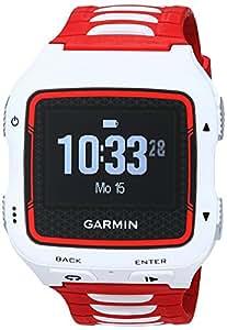 Garmin Forerunner 920XT HRM Bundle GPS Triathlon Multisport, Include Fascia Cardio Premium HRM-Run, Bianco/Rosso