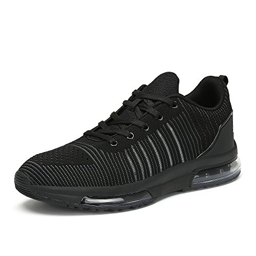Mens Fitness Shoes Shock Absorbing Air Bubble Sneaker Sport Walking Running Jogging...