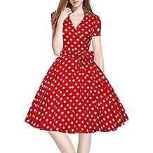 Vestido de mujer, ❤️Xinantime Vestido vintage de mujer vestido 50S 60S Swing Pinup Vestido