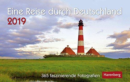 Eine Reise durch Deutschland - Premiumkalender 2019 - Harenberg-Verlag - Tageskalender mit 365 faszinierenden Fotografien - 23 cm x 17 cm - Germany - Deutschland-Kalender