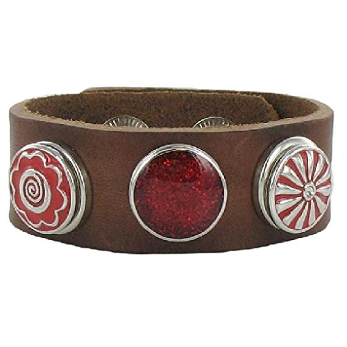 quiges-eligo-jewellery-18mm-brown-leather-snap-button-bracelet-215-235cm-set-229