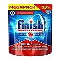 Finish All in 1 Plus, Spülmaschinentabs, Megapack, 72 Tabs