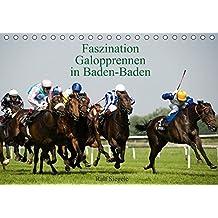 Faszination Galopprennen in Baden-Baden (Tischkalender 2018 DIN A5 quer): Galoppsport in Iffezheim, Baden-Baden (Monatskalender, 14 Seiten ) (CALVENDO Sport) [Kalender] [Apr 01, 2017] Siegele, Ralf