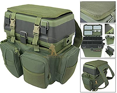 Roddarch© Fishing Seat Box & Rucksack. Fly Sea Coarse Fishing Seat Backpack. from Roddarch