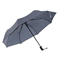 Ladies umbrellas compact windproof automatic polka dot colours
