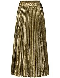 huge discount b22b4 897cf Amazon.it: gonna lunga - Oro / Donna: Abbigliamento