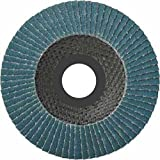 Pack of 10) Flap Disc 125 Mm 80-Grit Flap Abrasive Mop Discs