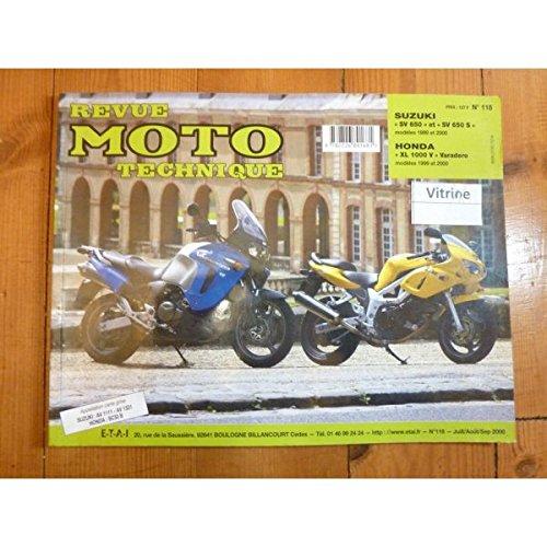 RRMT0118.1 REVUE TECHNIQUE MOTO - SUZUKI SV650 et SV650S de 1999 à...