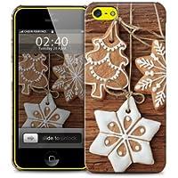 Stelle e appesi Natale, alberi di biscotto iPhone 5 quater plastica della copertura della cassa del telefono di