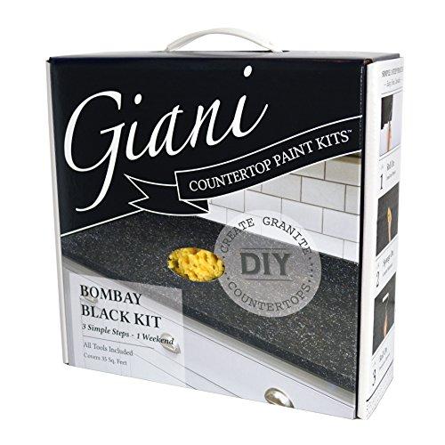 Giani FG-GI BOMBAY Farbe für Arbeitsplatten - Bombay schwarz