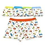 Chic-Chic Boxer Slip Lot de 5 Garçon Bébé Enfant Culotte Pantalon sous-Vêtement...