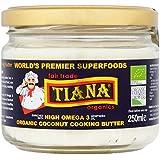 TIANA Omega 3 mantequilla de coco orgánico 250ml de cocina