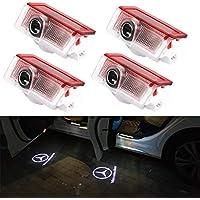 Car Door Logo Lights LED Shadow Projector Ghost Courtesy Welcome light for GLC GLE GLS GLA W212 W166 W176 W205 W246 X164