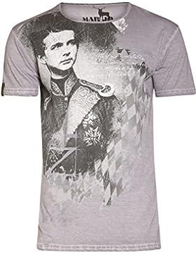 Michaelax-Fashion-Trade Marjo - Herren Trachten T-Shirt, M30 Wiggerl (621800-020047)