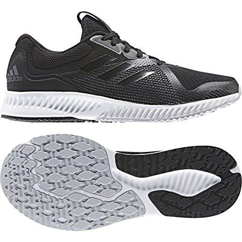 adidas Damen Aerobounce Racer W Fitnessschuhe schwarz (Negbas/Negbas/Gricin)