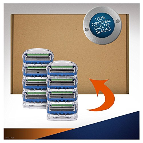 Gillette Fusion Men's ProGlide Power Razor Blades – 8 Blades