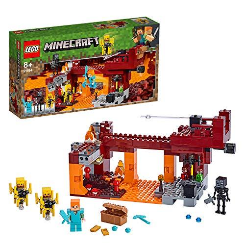 LEGOMinecraft 21154- Die Brücke, - Minecraft Figur Lego Alex