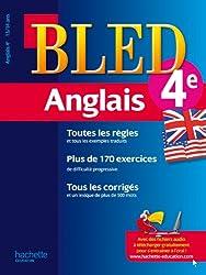 Cahier Bled - Anglais 4ème - 13-14 ans
