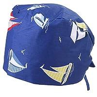 قبعة كيسو مصنوعة من القطن لطب الأسنان قبعة عملية قبعة صالون التجميل (Y2)