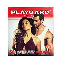 Playgard Climax Delay Condoms - Strawberry 3S (10)