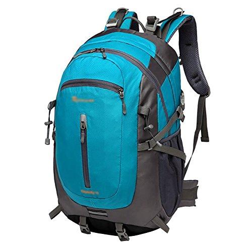 HWLXBB Outdoor Bergsteigen Tasche und Frauen 70L Wasserdichte Mehrzweck-Bergsteigen Tasche Wandern Camping Bergsteigen Rucksack 2*