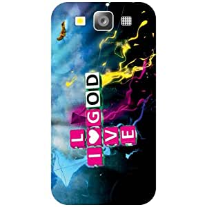 Samsung Galaxy S3 Phone Cover - Love God Matte Finish Phone Cover
