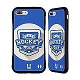 Head Case Designs Hockey Sportabzeichen Hybrid Hülle für Apple iPhone 7 Plus