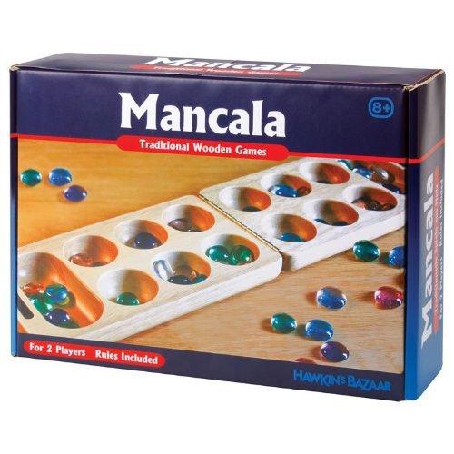 Mancala adictivo Fácil de aprender clásico juego de mesa para dos jugadores