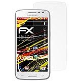 atFolix Folie für Samsung Galaxy Core LTE Displayschutzfolie - 3 x FX-Antireflex-HD hochauflösende entspiegelnde Schutzfolie