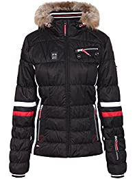 ICEPEAK W Damen Funktionsjacke Caia Jacke, Colour: Black (990), Size: 44