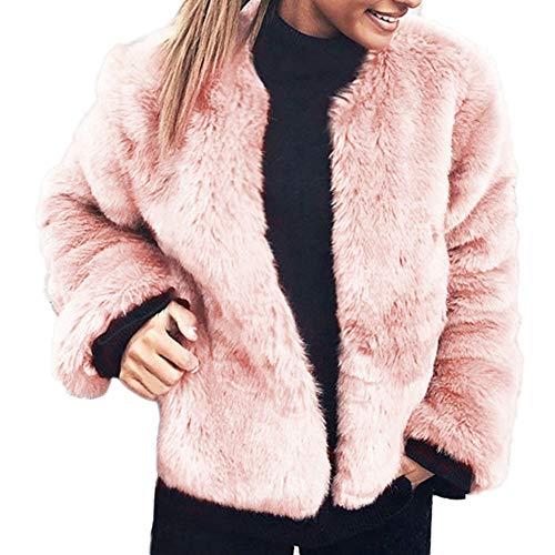 Somesun donne moda inverno casuale caldo giacca tinta unita o-collo cappotto cappotti,lana artificiali pelliccia ecologica più velluto addensare cappotto eleganti forti parka belli