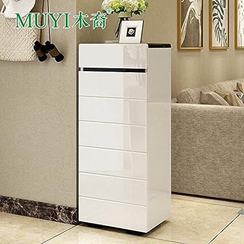 HOOM-L'armoire de rangement bahut mobilier autoportant,convient pour chambre à coucher,