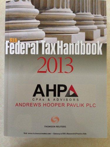 ria-federal-tax-handbook-2013