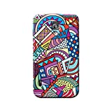 Garmor Retro Design Plastic Back Cover For LG Optimus L7 II P715 (Retro -1) best price on Amazon @ Rs. 249