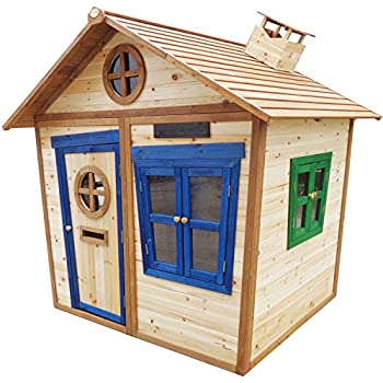 Big Game Hunters Redwood Tower Painted Wooden Playhouse Childrens