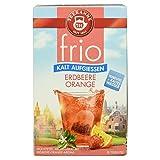 Teekanne frio Erdbeere Orange, 18 Beutel, 45 g