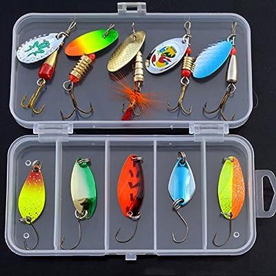 Povad Fishing Lure Kits-Fishing Lure Set - Mixed Universal Assorted Fishing Lure Set by GC