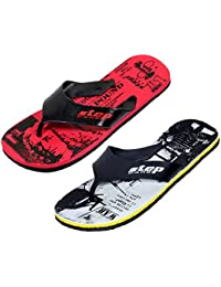 60bd3aa74d943 IndiWeaves Boys Step Care Comfortable Flip Flop House Slipper and Hawaai  Chappal Office Slipper-Printed
