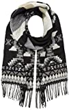 PIECES Damen Schal PCFICKY Long Scarf, Mehrfarbig Black, One Size