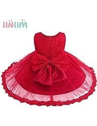 88d9c49d9 Placehab Branded Infant Baby Girls Dress Princess Vestidos Formal Toddler  Floral Lace Dress Bebe Clothes 1st