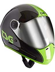 TSG Pass Pro Carbon Graphic Design - Casco para longboard, color negro, talla M