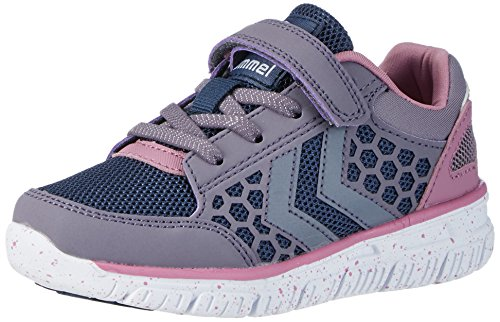 Hummel Crosslite Jr, Chaussures de Fitness Mixte Enfant Gris (Gray Ridge)