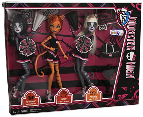 Monster High - Fearleading Squad 3 Doll Pack [Purrsephone & Toralei & (High Monster Sport)