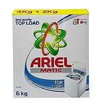 Ariel Matic Detergent Powder - Top Load, 6kg Carton