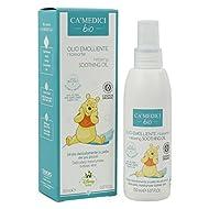 CA MEDICI BIO - Disney Baby Aceite Relajante Calmante para Bebés - con Aceites Naturales - Nutritivo, Calmante y Antioxidante - Fabricado en Italia - 150 ml