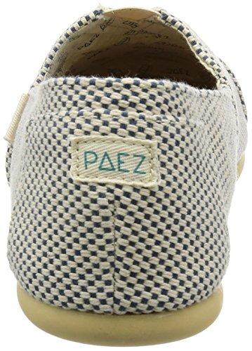 Paez Herren Original-Panama Espadrilles Blau (Blue)
