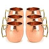 #3: Frestol Handmade Cup Set, 520ml, Set of 6, Brown
